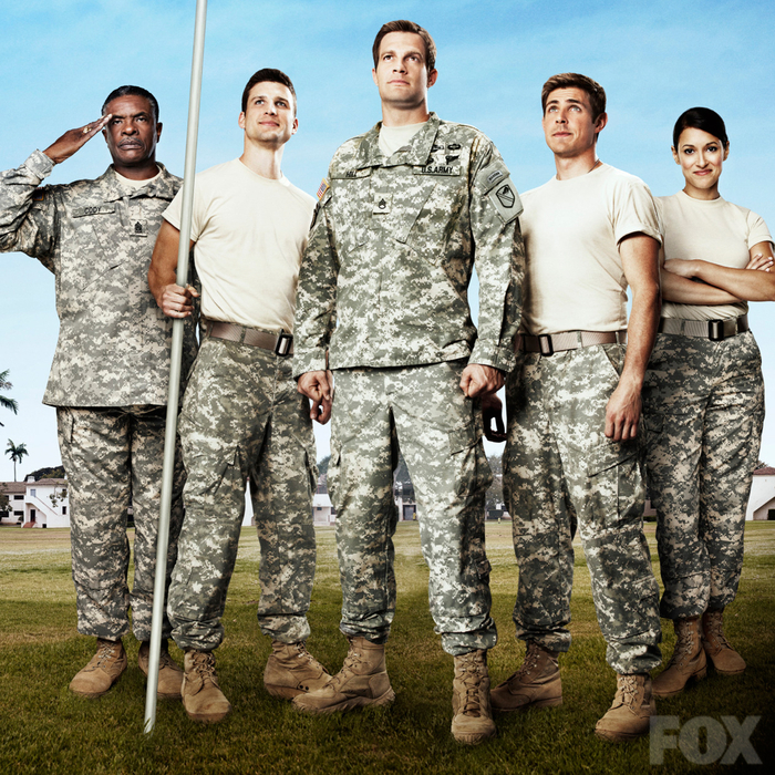 Enlisted is an irreverent and heartfelt single-camera comedy about three brothers on a small Florida Army base and the group of misfits who surround them.