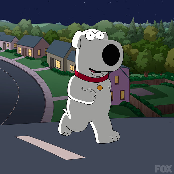 family guy brian dating show Family guy: the 10 best brian griffin episodes 9 7  terrible novel writer brian was a crucial part of the griffin family and the show as a whole,.