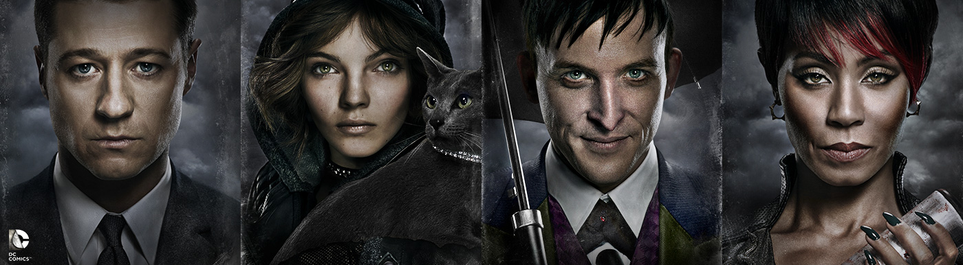 Seriado Gotham: Gordon,Menina-Gato, Fish Mooney, Pinguim