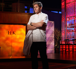 Chef Ramsay has both teams nominate three members for elimination.