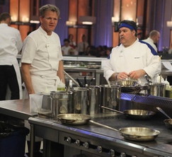 Chef Ramsay is infuriated when the Blue Team isn't paying attention on the first order of the night.