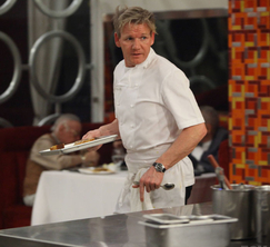 Chef Ramsay tries to keep his kitchen in line during a very dramatic night.