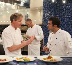 Chef Ramsay guides Scott through one of the most important nights of Hell's Kitchen.