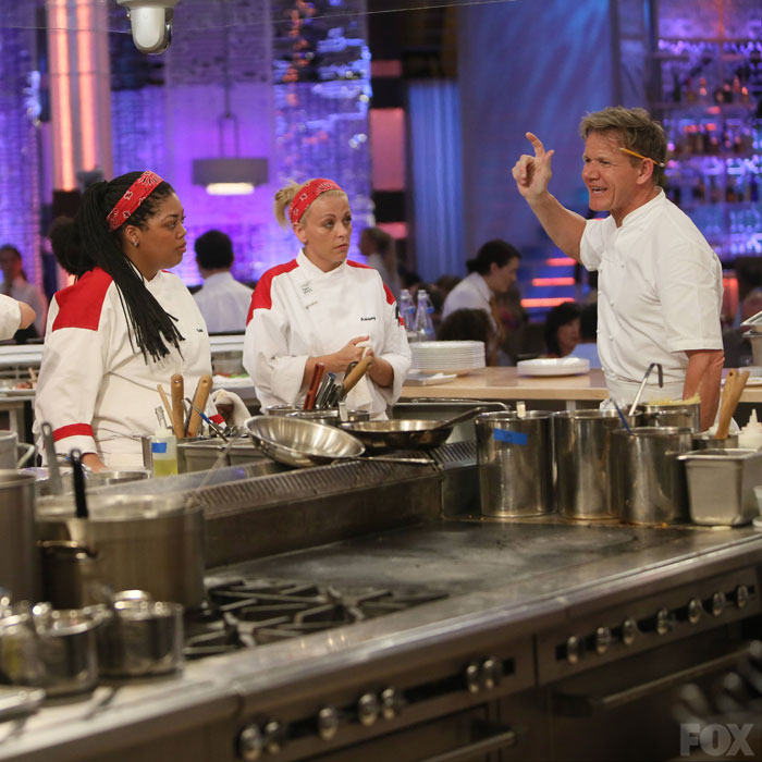 Hella Kitchen: Chef Ramsay Kicks The Red Team Out Of The Kitchen After
