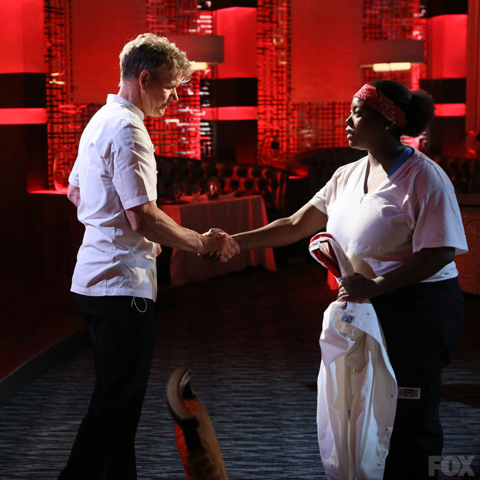 Chef Ramsay Says Farewell To A Disappointed Janai After