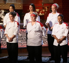 It was the Red Team that was up for elimination. Who was nominated?