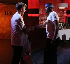 J.R. Robinson is eliminated from Hell's Kitchen.