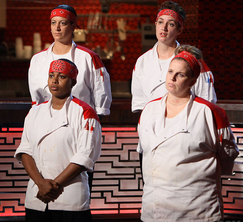 The Red Team was forced to offer up one of their own for elimination.