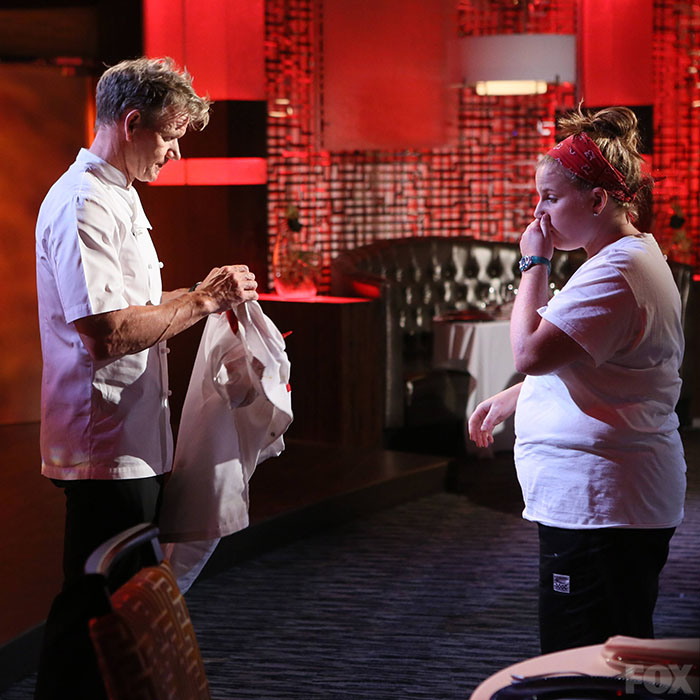 Watch Hells Kitchen: Kalen Morgenstern Was Eliminated From Hell's Kitchen