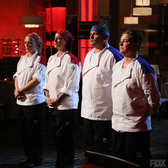 Watch Hells Kitchen: Ashley Sherman, Roe Dileo, Steve Rosenthal, And Aaron