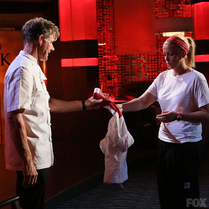 Ashley Sherman Is Eliminated From Hell's Kitchen
