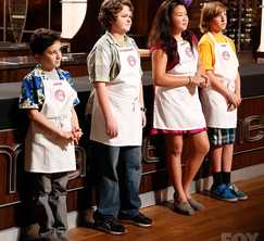 The Top 4 junior home cooks prepare to compete for a spot in the finale.