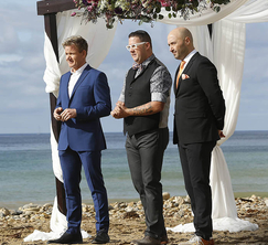 The judges announce a MasterChef wedding, which the contestants will be catering!