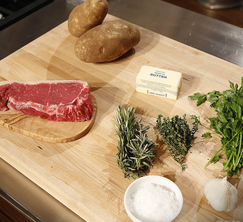 Leslie, Francis B, and Jordan have 30 minutes to create a perfect medium-rare steak frites.