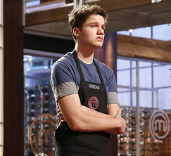 Jordan's steak had good color, but was slightly overcooked and didn't have a lot of flavor.  Unfortunately, he must leave the MasterChef kitchen.