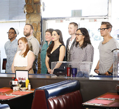 The remaining 14 contestants' next challenge will be running this all-American diner!