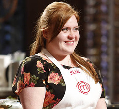 After struggling with both of today's challenges, Elise must leave the MasterChef kitchen.