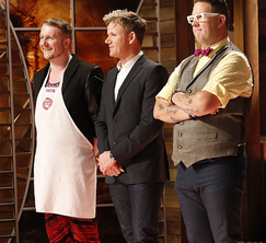 After creating a sauce and pasta that did not go well together, Francis must say goodbye to the MasterChef kitchen.