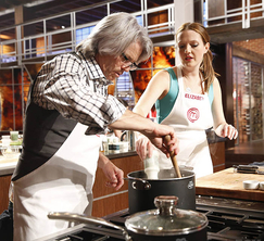 Leslie and Elizabeth are in complete agreement in how they should prepare their chicken oysters.