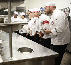 The top 6 home cooks get a lesson from Chef Michael Schlow before their first Restaurant Takeover Challenge.