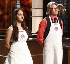 Courtney and Leslie prepare to face-off in the last pressure test of Season 5.