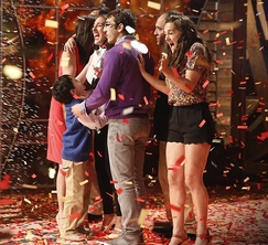 Courtney's risks paid off!  She is the MasterChef Season 5 winner!